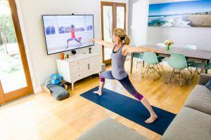 online yoga class in london